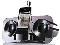auvisio Stereo<br />Lautsprecher MSS-222 f&uuml;r Smartphone &amp;...