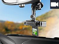 NavGear HD-Cockpit-<br />Recorder mit 2 Kameras &amp; TFT-Disp...