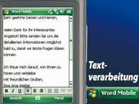 simvalley MOBILE Smartphone XP-25 mit Windows Mobile 6.1 VERTRAGSFREI simvalley MOBILE