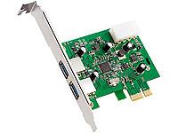 Xystec USB 3.0 PCIe<br />Controller &quot;Super-Speed&quot; mit bis...