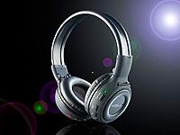 auvisio HiFi-Kopfh&ouml;rer<br />mit integriertem MP3-Player &amp;...