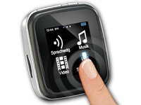 auvisio Touchscreen MP3-<br /> &amp; Video-Player &quot;DMP-355.SQ&quot;...