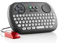 GeneralKeys Kabellose<br />Multimedia-Infrarot-Tastatur m...