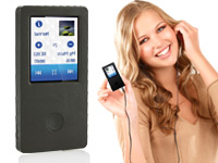 auvisio MP3- &amp; Video-<br />Player DMP-320.touch mit 1,8&quot; T...