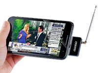 auvisio Mini-DVB-T-<br />Receiver &quot;aDTV mobile&quot; f&uuml;r Androi...