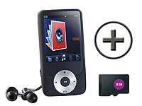 auvisio MP3-Player und<br />Recorder mit Video-Player + 8...