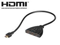 auvisio Automatischer<br />3-fach-HDMI-Umschalter &quot;HSW-13...