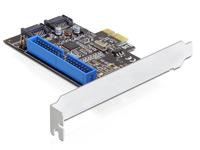 PCIe Controller Karte<br />2x SATA 6Gb/s (SATA III) &amp; 1x ...