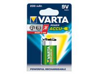 Varta Ready2Use NiMH-<br />Akku 9V-Block 200mAh, vorgelade...