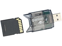 USB 2.0 SDHC-Card-<br />Reader &amp; USB-Stick MMC, SD, microS...
