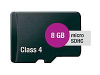 microSD / Transflash<br />Speicherkarte 8 GB (SDHC) Class...