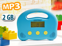 auvisio kindergerechter mp3 player mit 2gb speicher. Black Bedroom Furniture Sets. Home Design Ideas