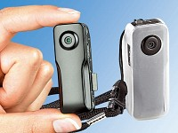 "Somikon 3in1-Mini-Action-Cam ""Raptor640"" m. 2GB-microSD, Akustiksensor Somikon"