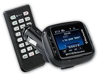 auvisio bluetooth freisprecher fm transmitter mit tft. Black Bedroom Furniture Sets. Home Design Ideas