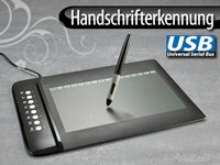 GeneralKeys Premium USB-<br />Grafik Tablet mit 8 Hotkeys,...