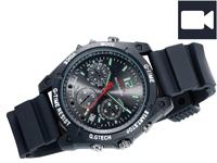 OctaCam Kamera-Uhr mit<br />Full HD, Infrarot-Nachtsicht ...