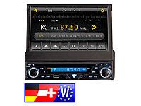 Creasono 7&quot; Touchscreen<br />DVD-Autoradio mit Navigation...