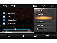 NavGear StreetMate 2-<br />DIN Autoradio mit 6&quot;-Navi DSR-N...
