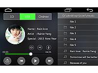 navgear 2 din android autoradio dsr n 270 mit gps wifi bt2. Black Bedroom Furniture Sets. Home Design Ideas