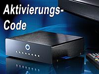 auvisio Code für die Aktivierung der Aufnahmefunktion bei Mediaplayer PX-8571