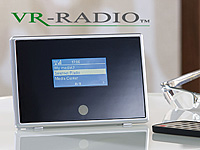 "VR-Radio Internetradio-Receiver & Musik-Streamer ""IRX-510.WLAN"" VR-Radio"