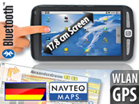 "TOUCHLET Tablet-PC X2G mit Android2.2, GPS & Navi-Software Deutschland TOUCHLET Android Tablet PCs (MINI 7"")"