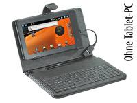 TOUCHLET 2in1-<br />Schutztasche mit Tastatur f&uuml;r Tablet-P...