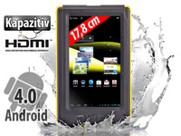 TOUCHLET 7&quot;-Tablet-PC<br />X5.Outdoor mit Android 4.0, IP...