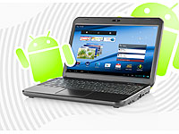 Meteorit 10,1&quot;-Android-<br />Netbook &quot;NB-10.dual&quot; mit HDMI