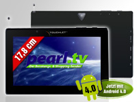 TOUCHLET 7&quot;-Tablet-PC<br />&quot;X5.DVB-T&quot; mit Android 4.0, HD...