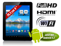 TOUCHLET 8&quot;-Tablet-PC<br />X8 mit Dual-Core-CPU, Android ...