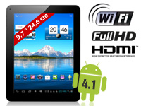 TOUCHLET 9.7&quot; Tablet-<br />PC X10.dual Android 4.1, GPS &amp; ...