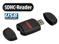 Hama SDHC-Card-Reader<br />&amp; USB-Stick mit MyDisa Datensc...