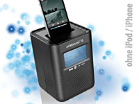 Orbitsound 5in1-Internetradio mit Dock für iPod/iPhone (refurbished)