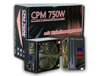 Netzteil &quot;CPM 750 W&quot;<br />mit Kabelmanagement, Aktiv-PFC ...
