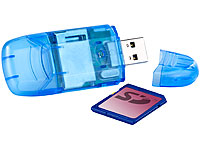 c-enter 2in1 USB-3.0-<br />SDXC-Cardreader &amp; USB-Stick, SD...