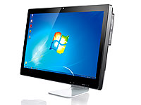 Meteorit 23,6&quot;-All-in-<br />One Barebone-PC &quot;XIO-23&quot; 2-Ker...