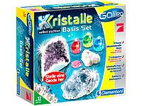 Galileo - Kristalle<br />selbst z&uuml;chten Basis-Set (Clemen...