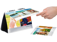 Your Design Tischkalender-Set A5 quer 260g/m² inkl. Software Your Design Fotokalender Druck-Sets