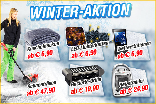 Winter Angebote - Schnäppchen im PEARL Factory-Outlet!