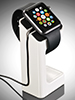 Callstel Eleganter 3in1-St�nder f�r Apple Watch, wei� Callstel