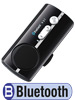 "Callstel Bluetooth Handy-Freisprecher ""Black Jewel"" mit Text-to-Speech Callstel Bluetooth Freisprecheinrichtungen"