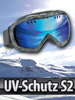 Speeron Superleichte Hightech-Ski- & Snowboardbrille inkl. Hardcase Speeron