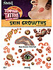 Nitefall Costume Tattoos: Skin Growths Halloween Narben-Sets
