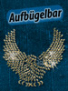 "Your Design Strassmotiv ""Adler"" zum Aufbügeln, 168x152 mm Your Design Strass-Bügelbilder"