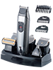 Sichler Men's Care 6in1 Akku-Trimmer-Set: Ganzk�rper- & Bart Rasierer, Haarschneider usw. Sichler Men's Care Multi Rasierer- & Bartschneider-Set