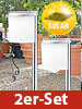 "Lunartec Solar-LED-Wegeleuchte ""Slim Light"" im 2er-Set Lunartec"