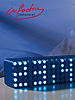 "infactory LED-Designer-Wecker ""Blue 24"" infactory LED-Wecker"