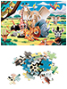 "infactory 500-teiliges Glow-in-the-dark-Puzzle ""Tierwelt"" infactory"