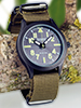 Semptec Urban Survival Technology Solar-Armbanduhr im Military-Style Semptec Urban Survival Technology